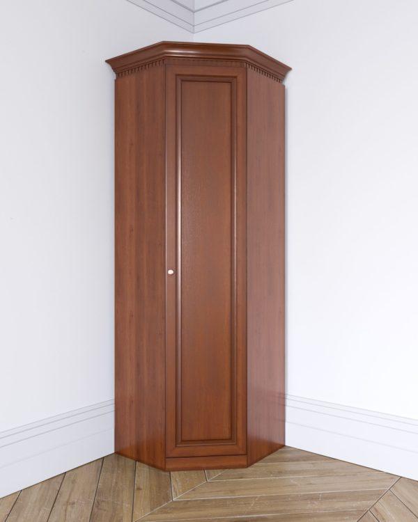 Угловой шкаф из массива. Шкаф для одежды. Шкаф для белья. Платяной шкаф. Шкаф из дерева