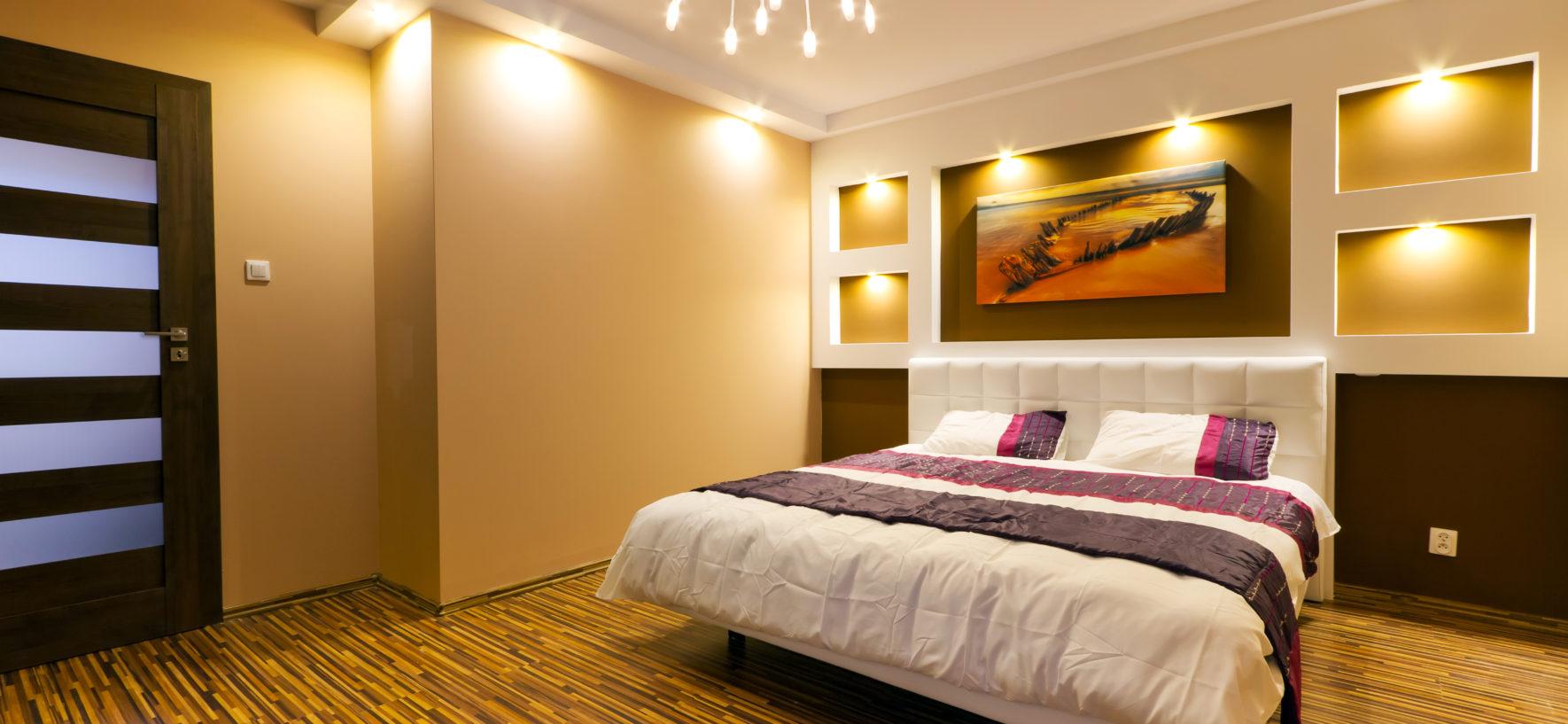 Как быстро обновить спальню?