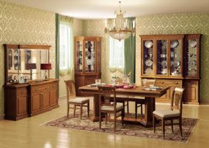 Мебель для гостиной из массива