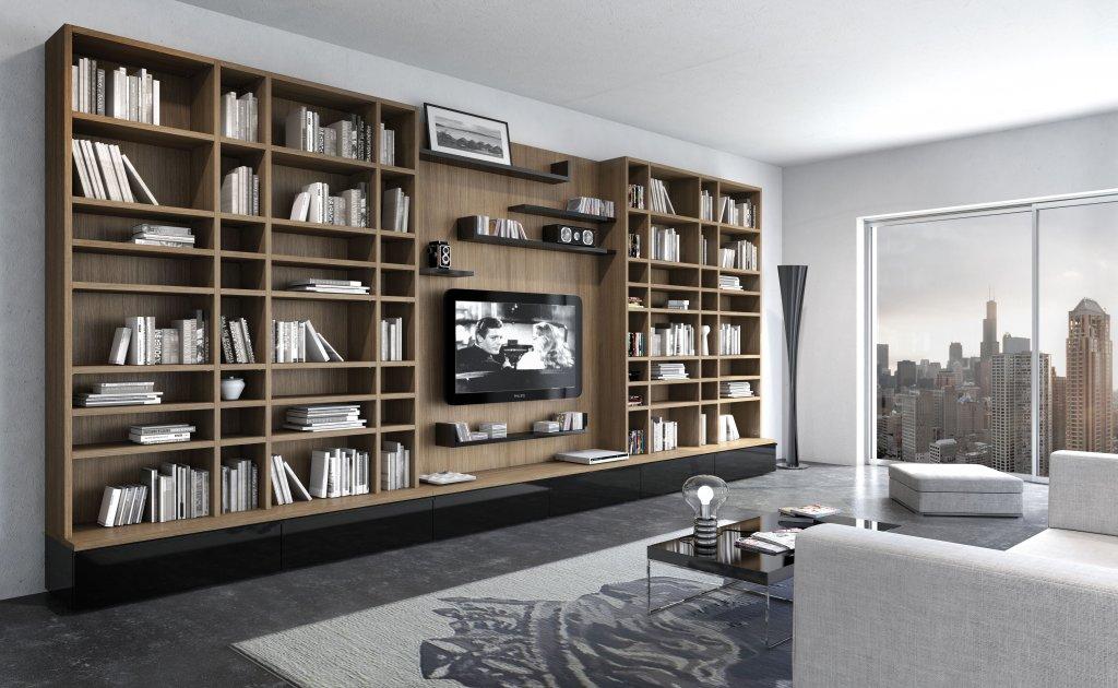 Книжные шкафы: как выбрать