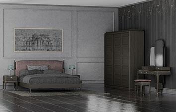 Спальня из массива дуба