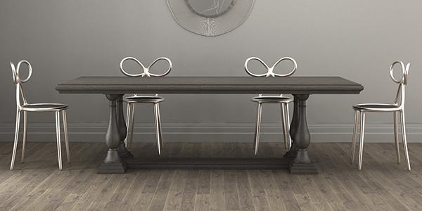 Деревянный стол Орманно