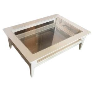 Кофейный столик со стеклом Boston